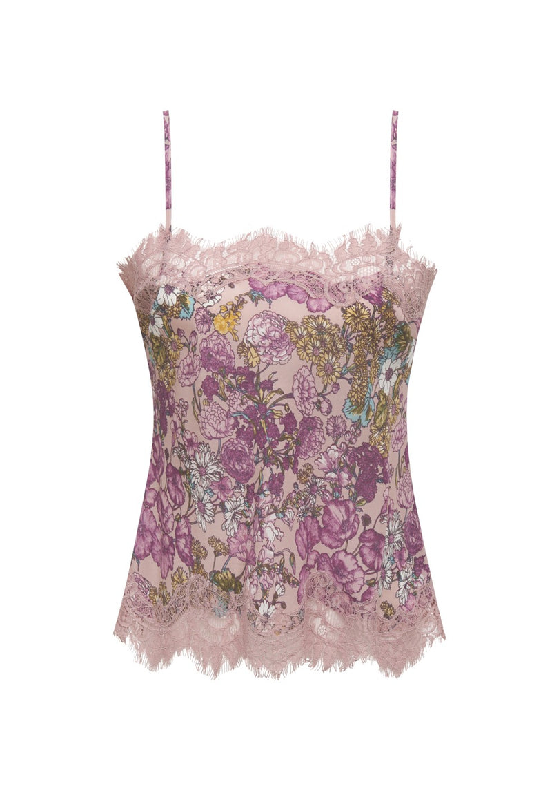 Tropical Ale Cami Muted Rose