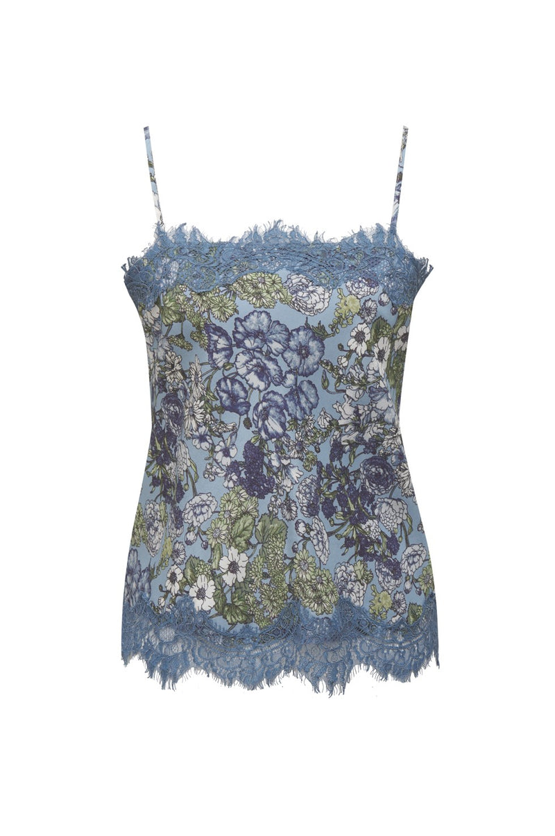 Tropical Ale Cami Blue
