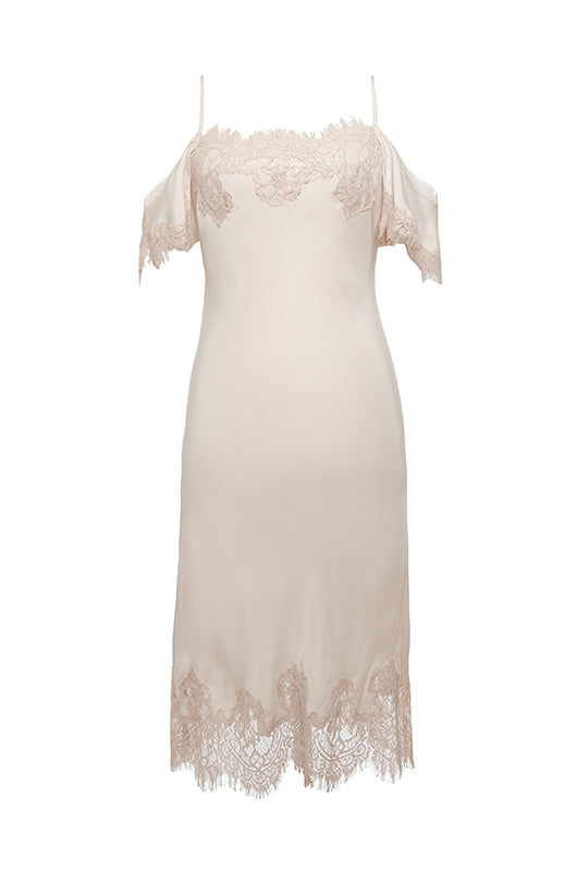 Gigi Lace Silk Dress