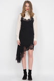 Emma Lace Silk Slip Dress