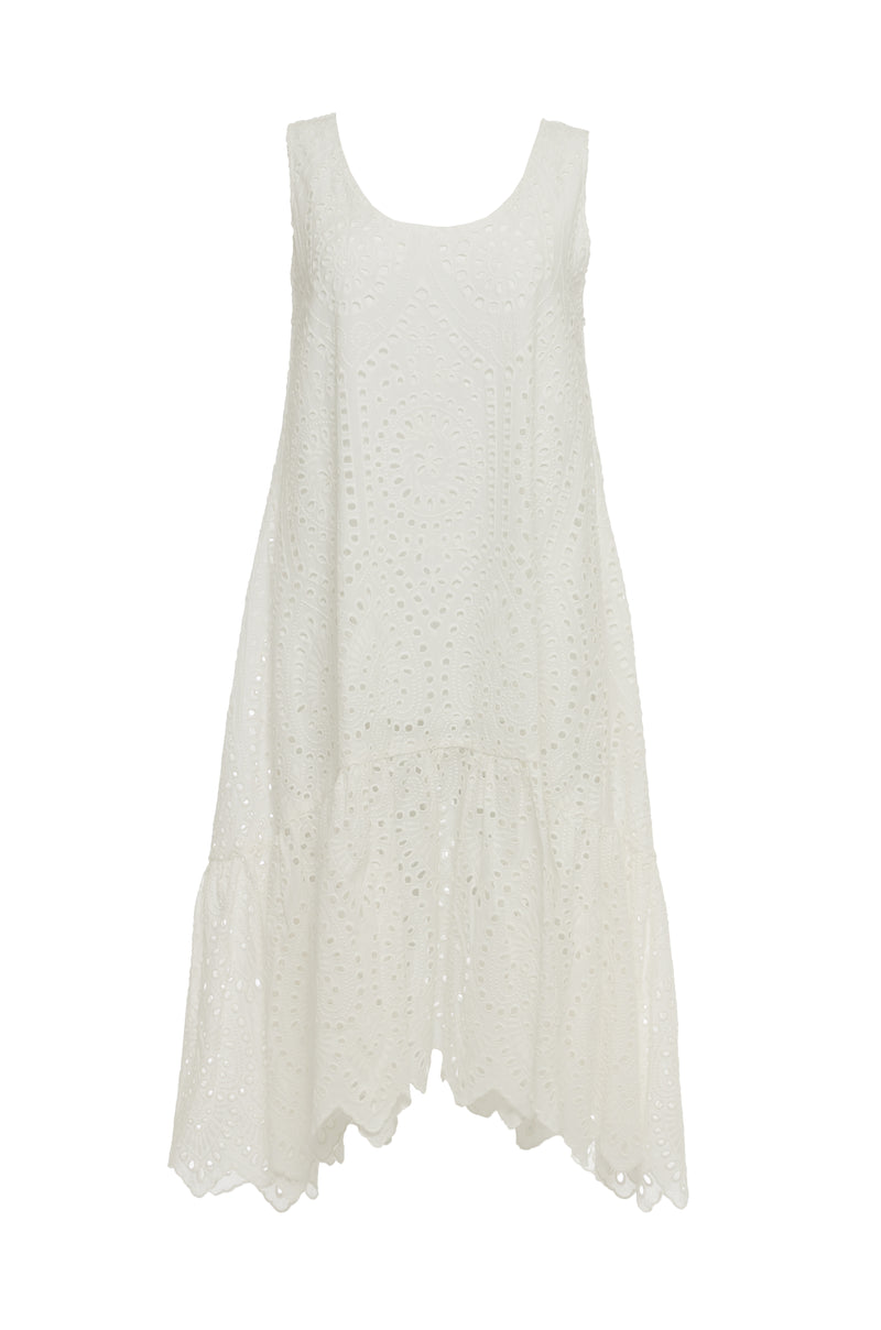 Adele Cotton Tank Dress
