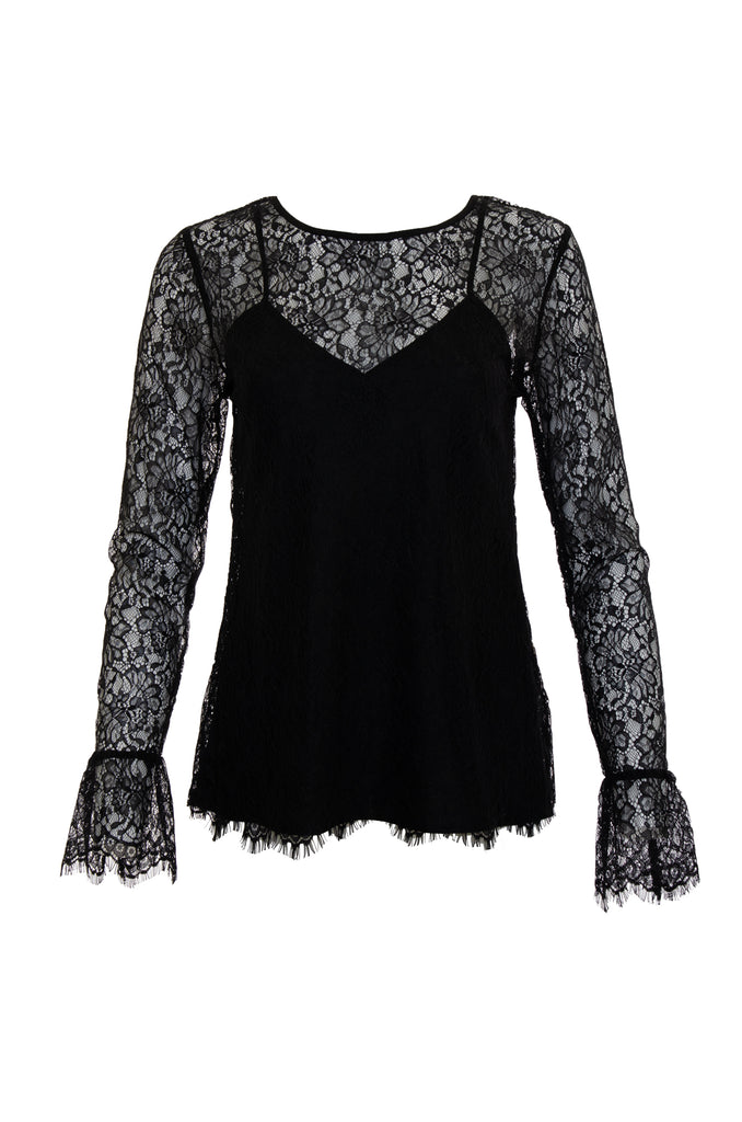 Chantilly Lace Long Sleeve Top