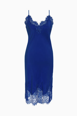 The Coco Bodice Lace Dress in french blue.
