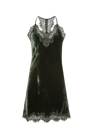 Velvet Razorback Lace Dress