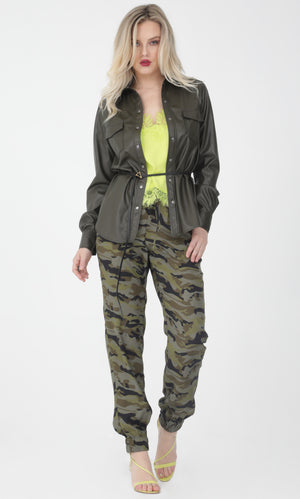 Camo Pull On Pant