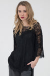 Chantilly Lace Oversize Tee
