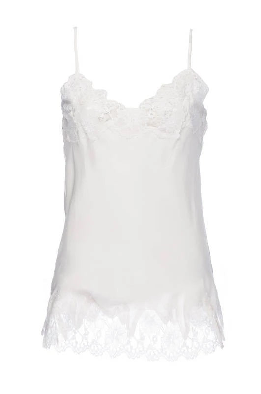 Marilyn Lace Silk Cami