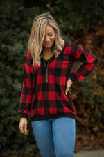 Mad About Plaid Pullover