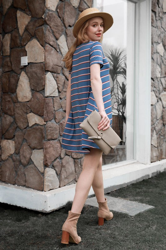 United in Stripes Dress