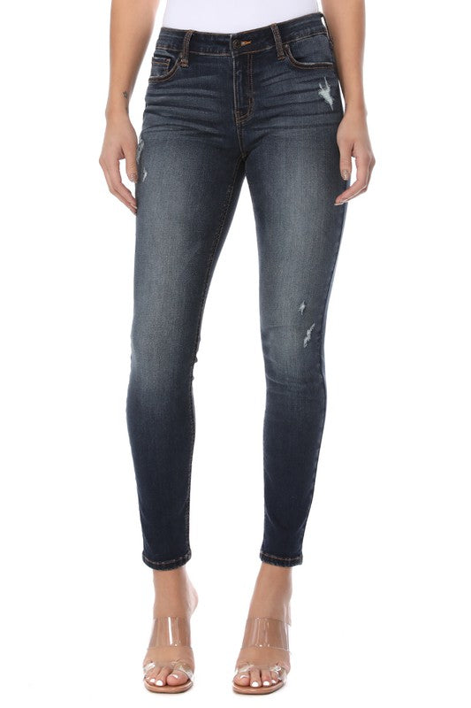 Jude High Rise Skinny Crop