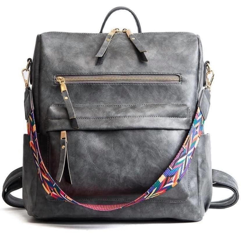 City Chic Backpack in Gray