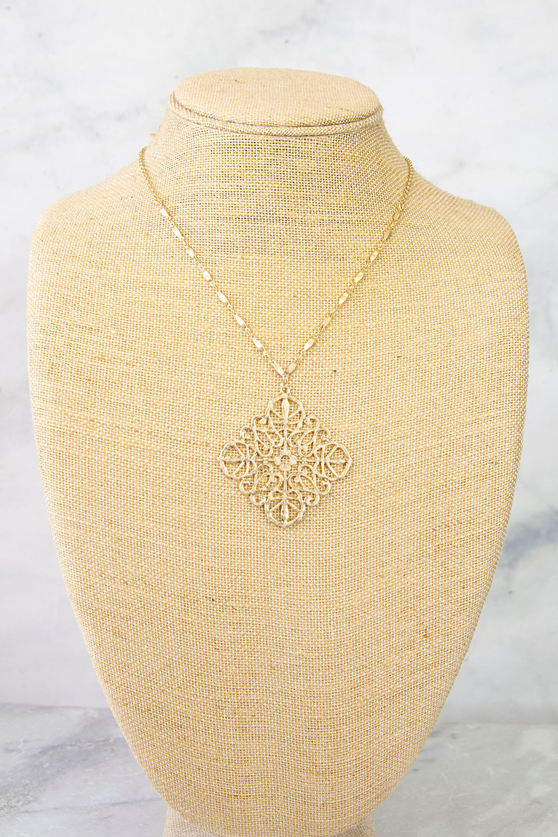 The Suzanne Gold Necklace