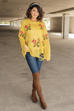 Briar Rose Destroyed Sweater