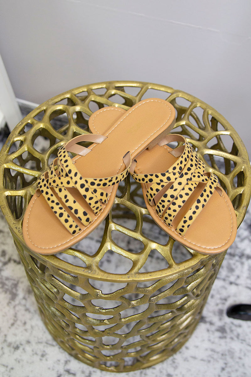 Stella Mae Sandal in Cheetah