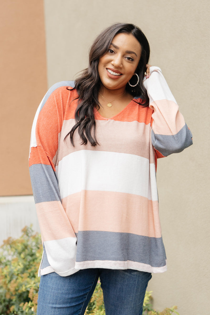 Chunky Stripes Top