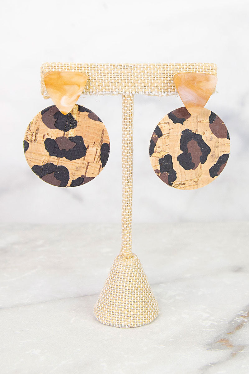 Quirky Cork Earrings