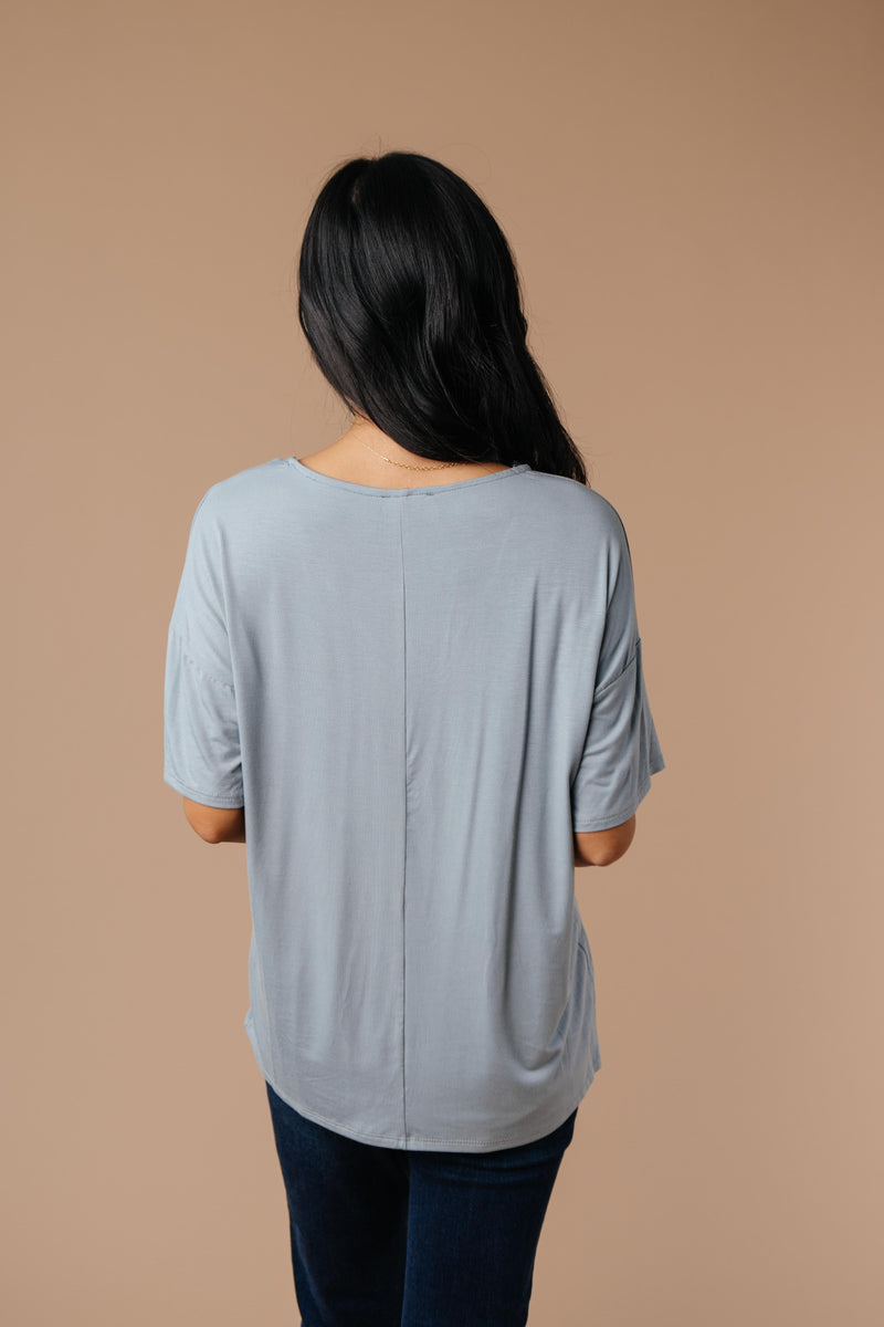 Parallel Universe Top In Gray - Amaranth Collection