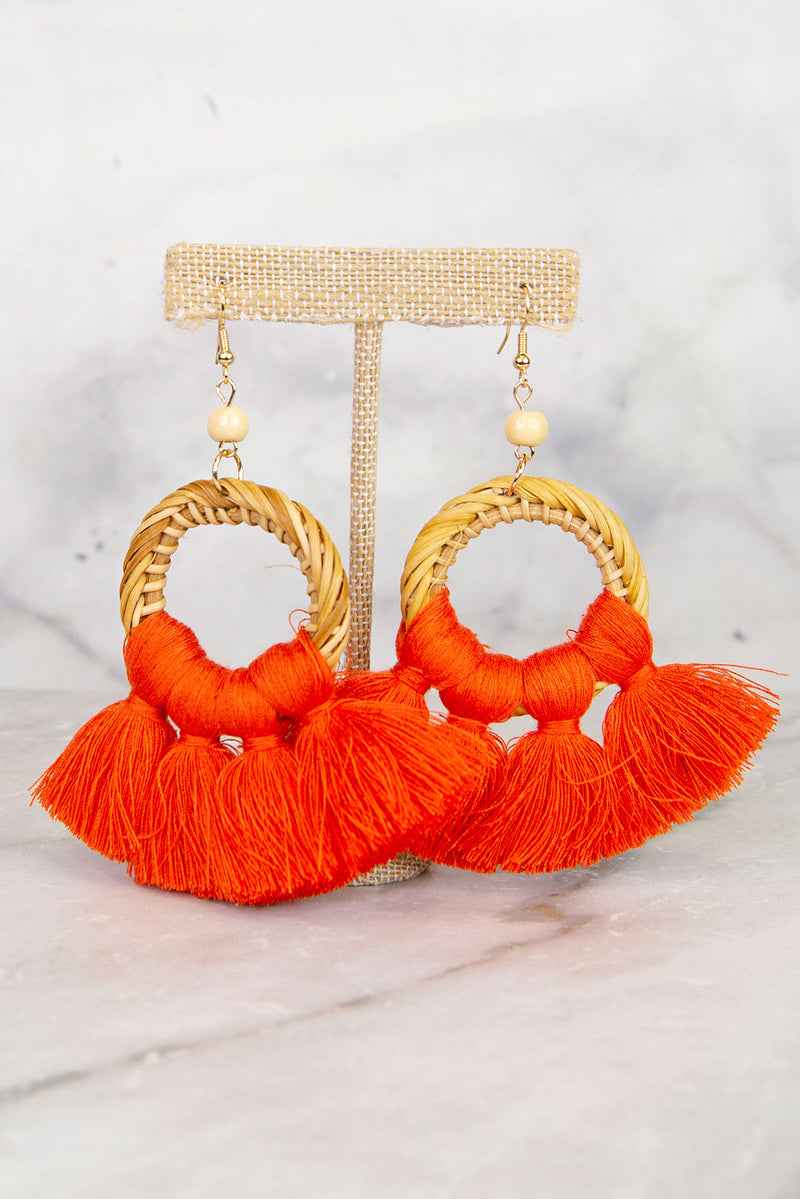 Soulful Coral Earrings