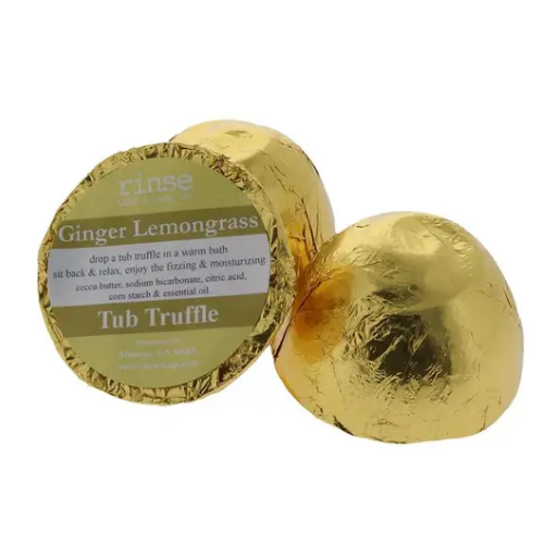 Ginger Lemongrass Tub Truffle