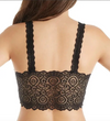 Oh So Chic Lace Padded Bralette in Black