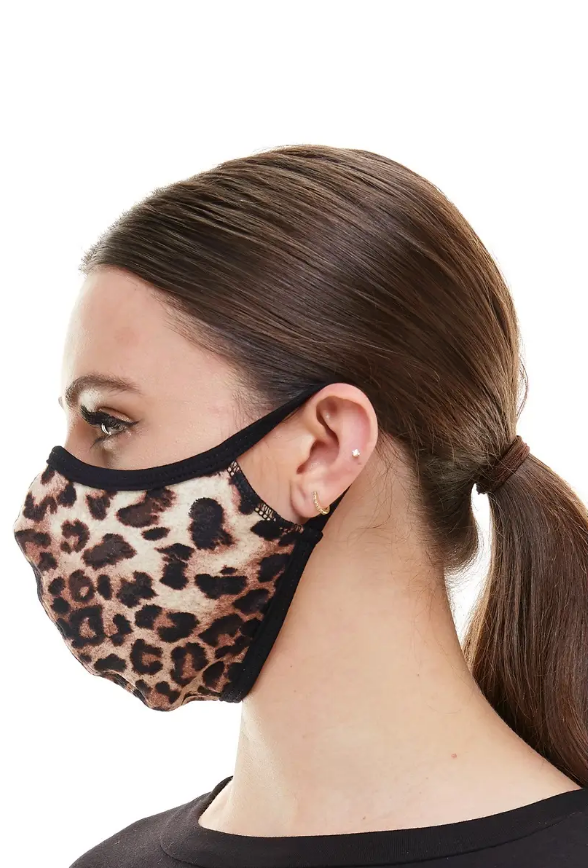 Animal Print Face Covering (2 sizes available)