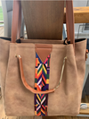 City Chic Tote In Tan