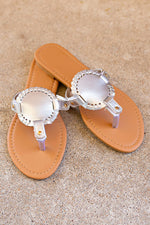 Summer Sunset Sandals - Silver