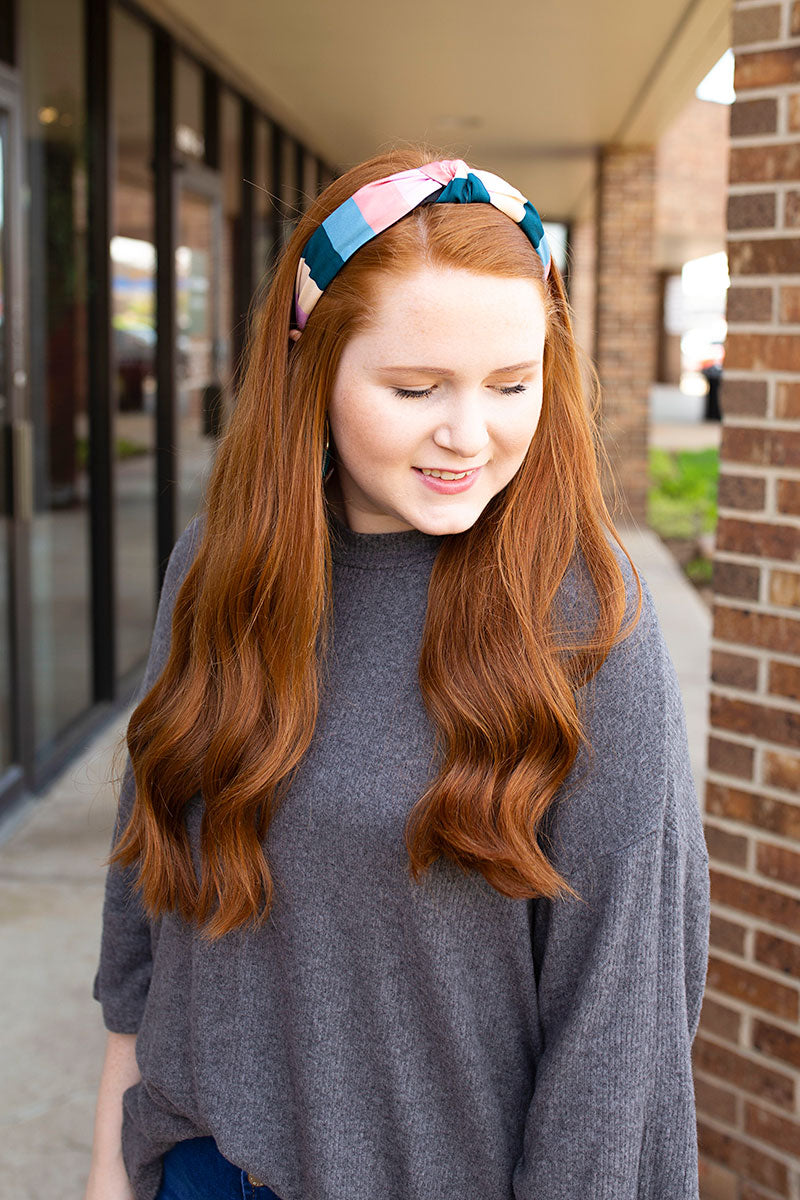 Multi Color Block Headband