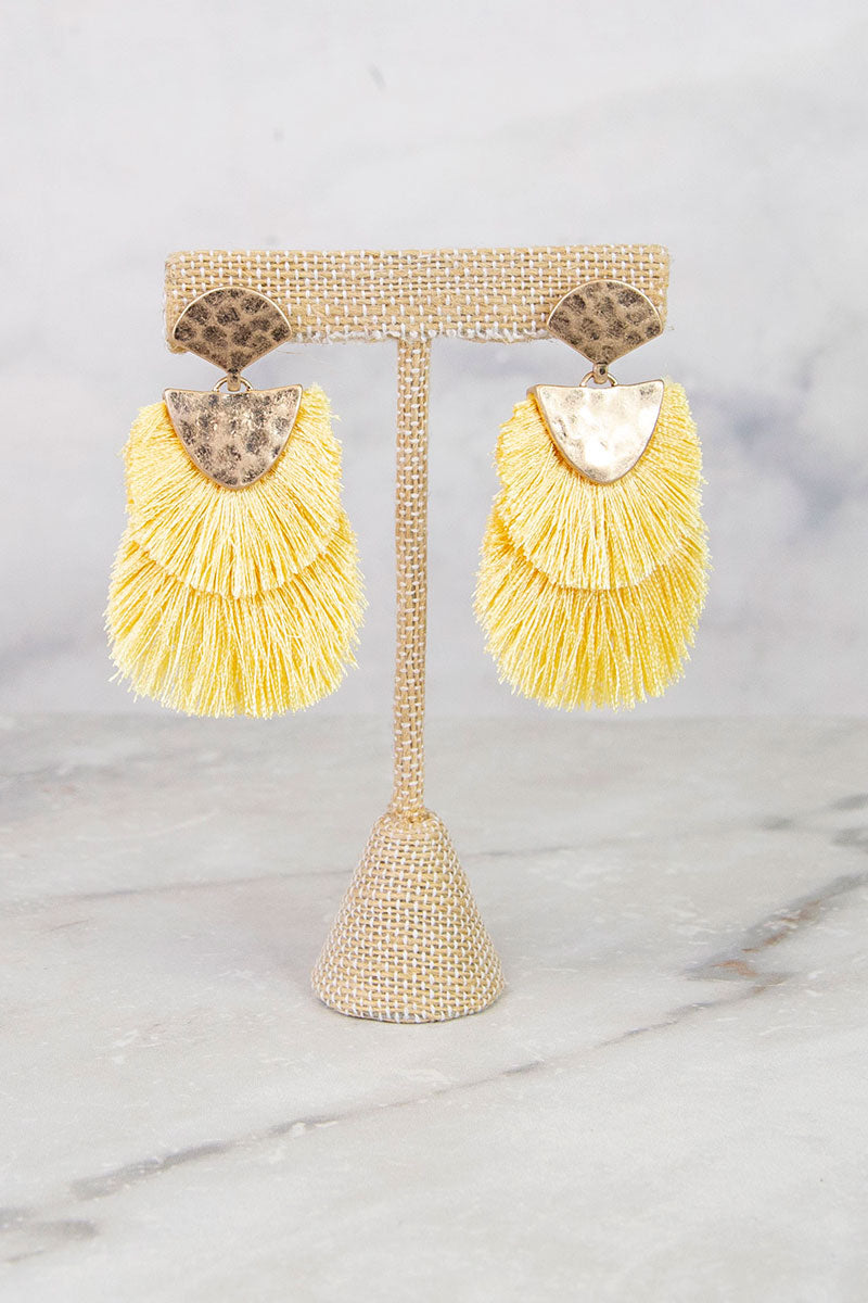Powerful Fringe Earrings
