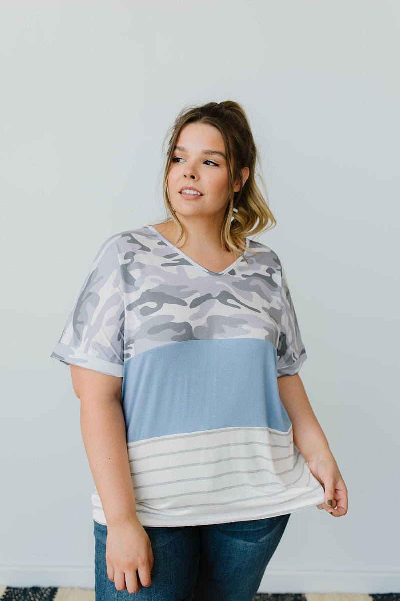 Camo Lockdown Top - Amaranth Collection