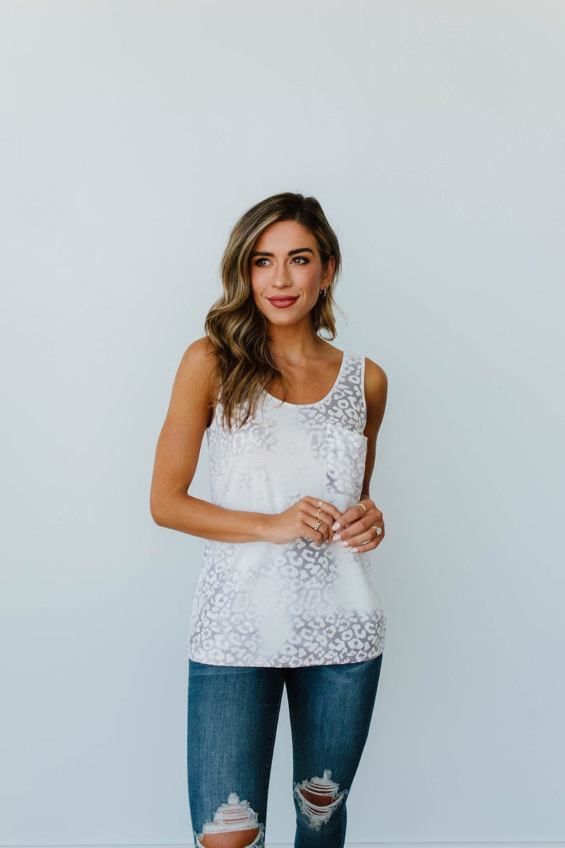 Faded Gray Tank - Amaranth Collection
