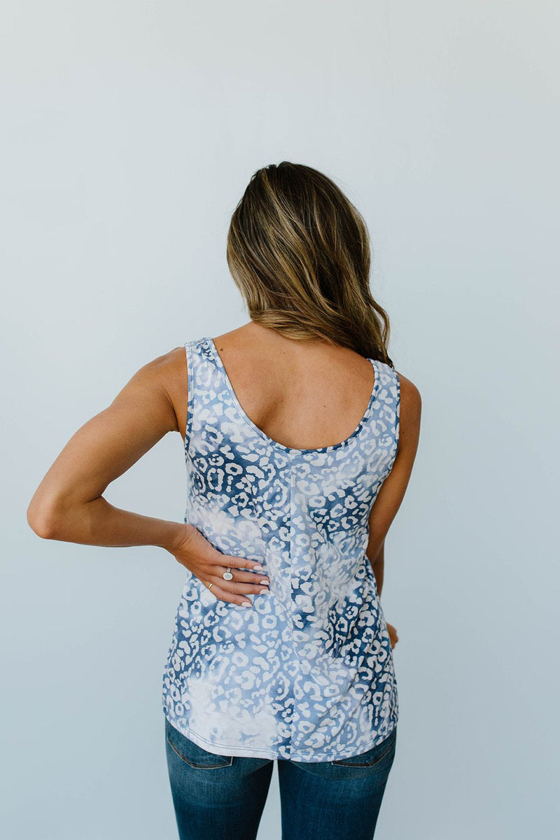 Faded Navy Tank - Amaranth Collection