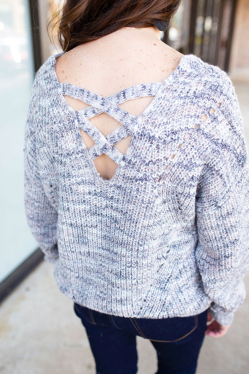 Knit Marbles Sweater