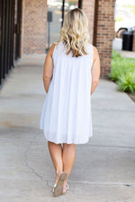 Walking on Clouds Dress in Baby Blue