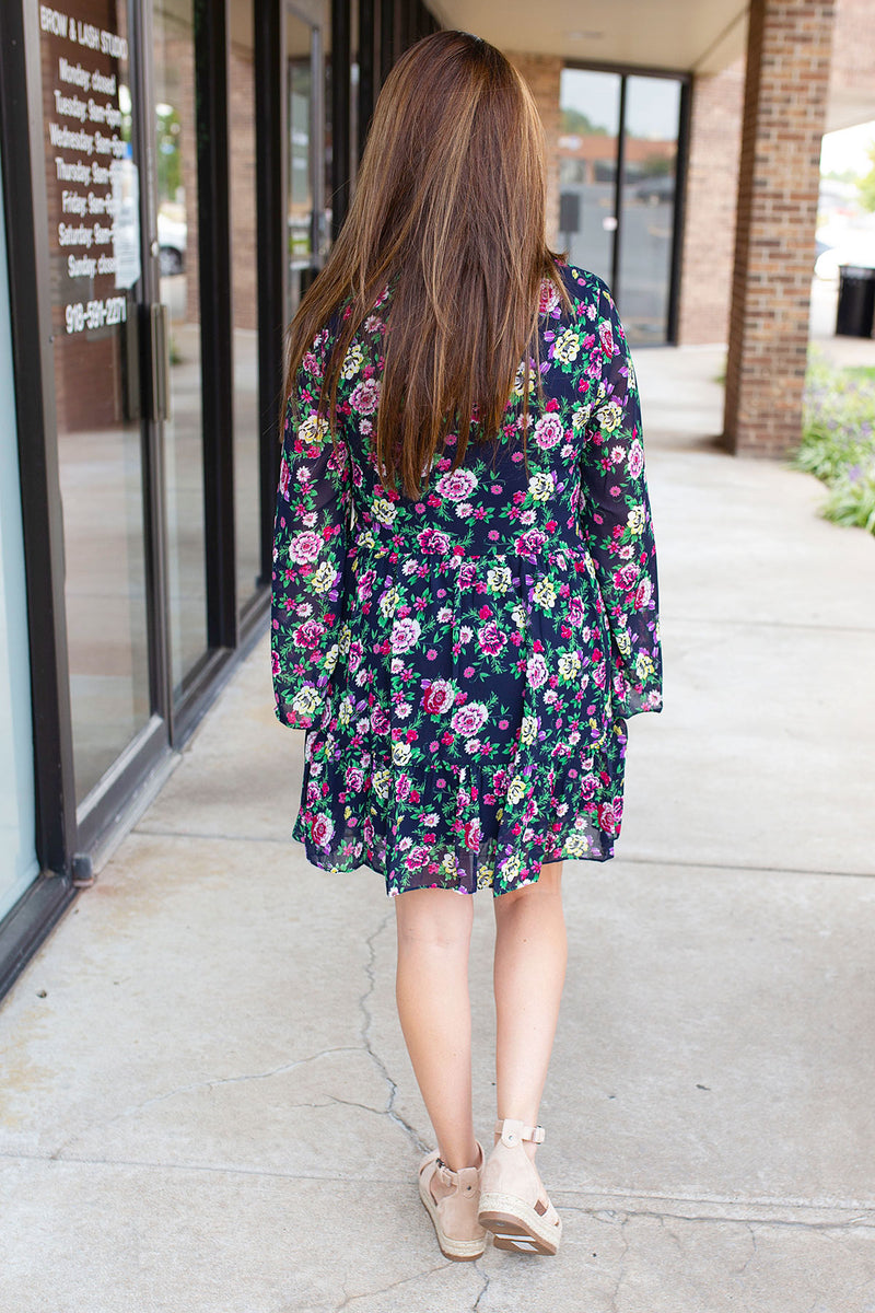 Bright Gardens Flowy Dress