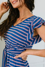 On Point Striped Dress