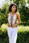 Snake Tank In Natural - Amaranth Collection