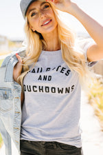 Tailgates And Touchdowns Graphic Tee - Amaranth Collection