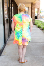 Psychedelic Swing Dress