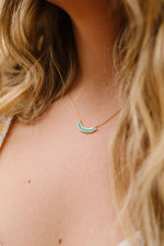 Turquoise Smiles Necklace