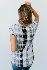 Wham Bamboo Top In Black - Amaranth Collection