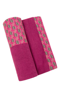 Magenta Vegas Baby Fuschia | Head 2 Toe Beach Towel - Sun of a Beach