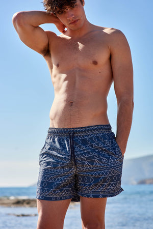 Tinos Blue | Men's Swimwear - Sun of a Beach