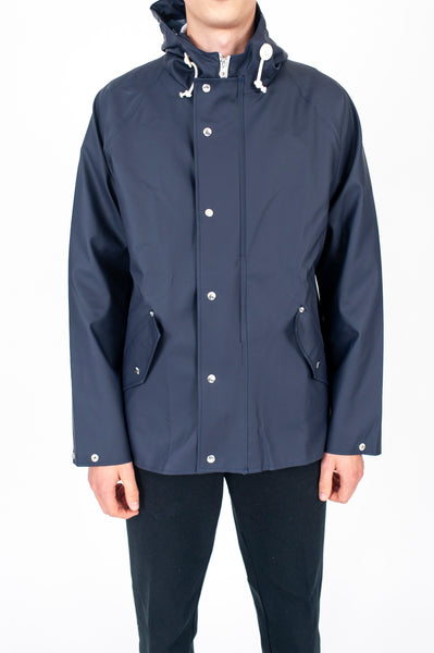 Anker Rain Jacket Dark Navy by Norse Projects