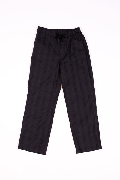 Needles String Arrow Easy Pant Cotton Leno Black Sulfur