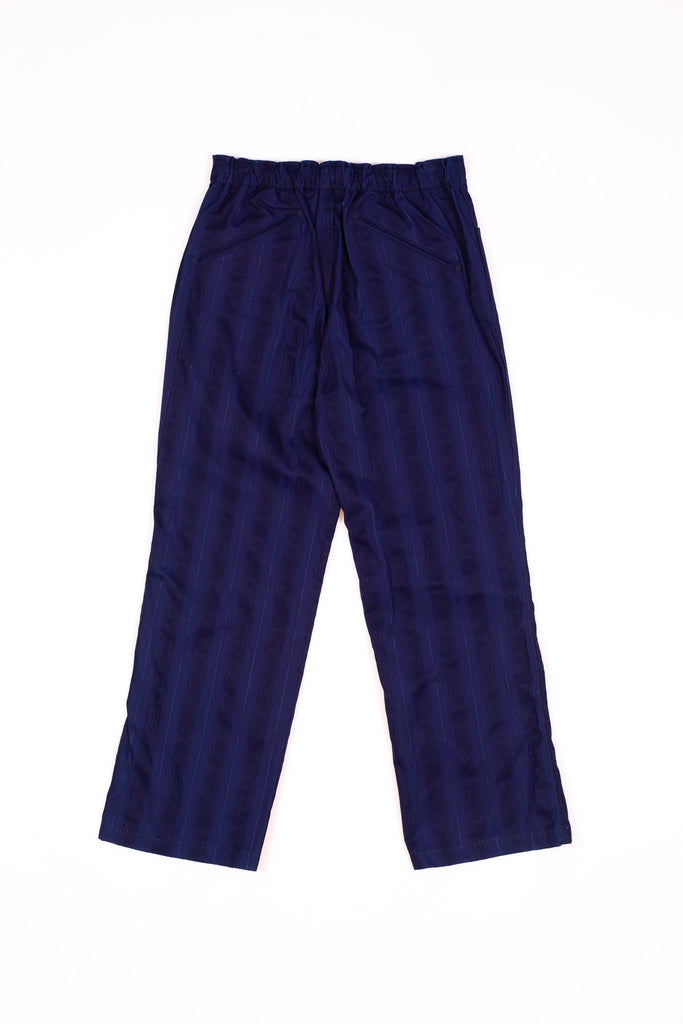 Needles String Arrow Easy Pant Cotton Leno Indigo