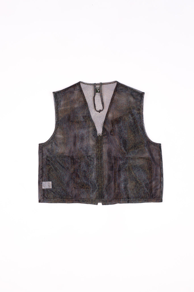 South2 West8 Mesh Bush Vest Heavyweight Mesh Leopard