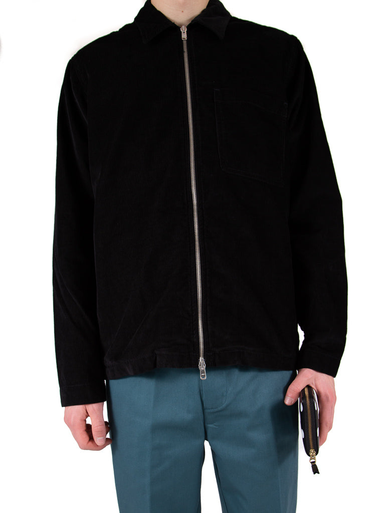 Jens Cord Jacket Black