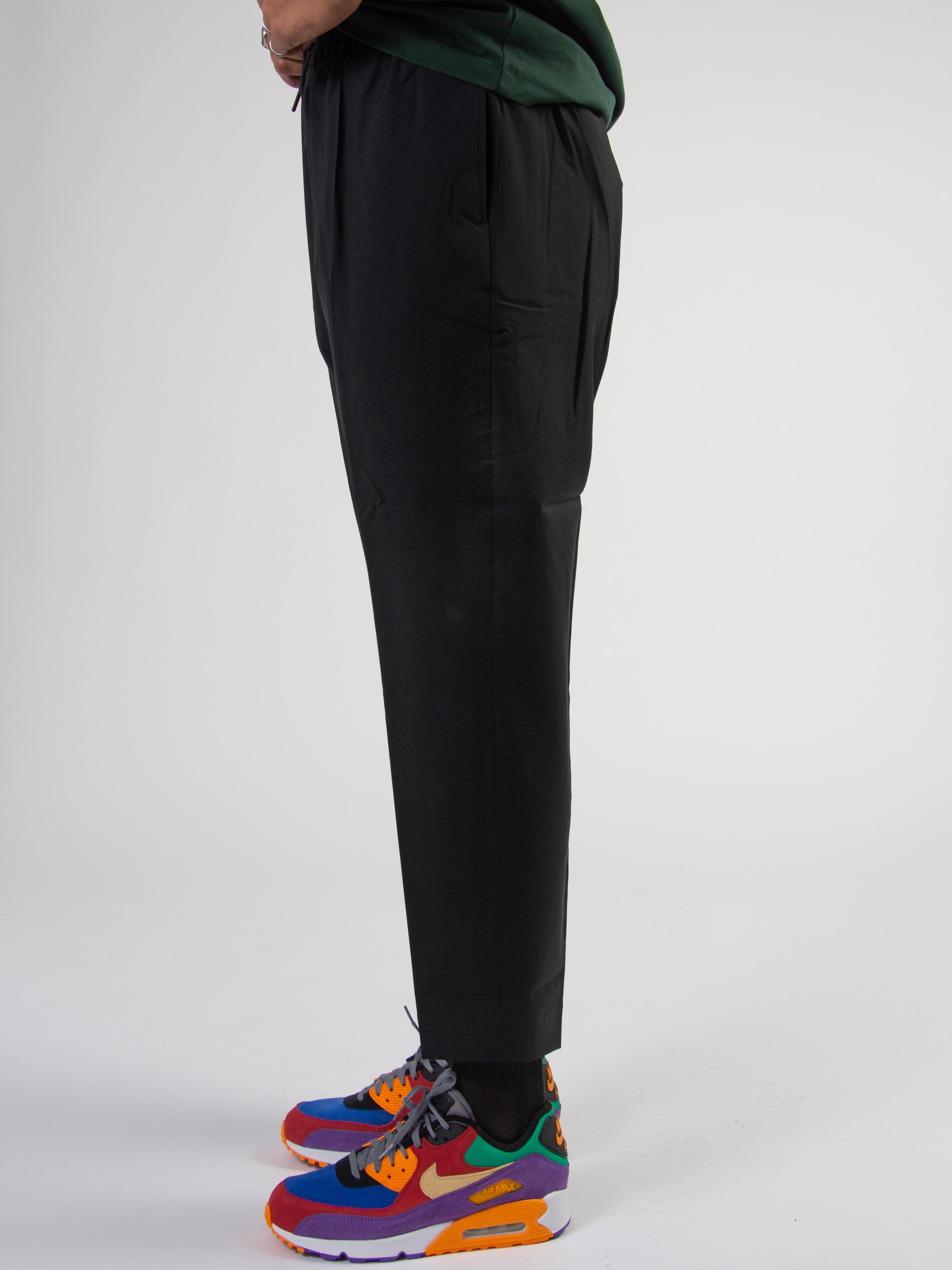 Jalousie Wool Trouser Black