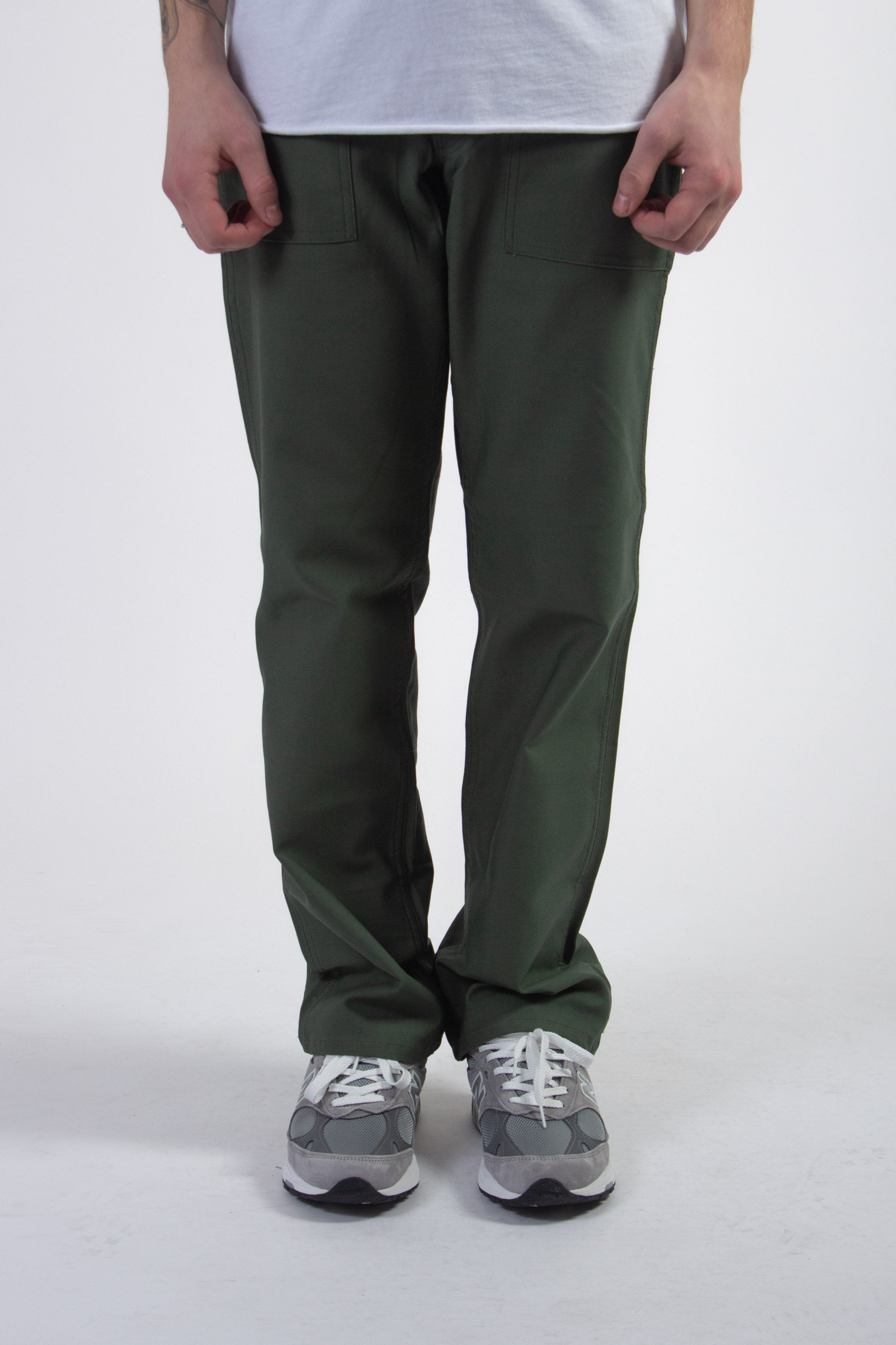 Loose Fit Fatigue Pant Olive 1100